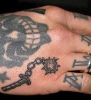 фото тату оружие от 05.09.2017 №103 — tattoo weapons — tattoo-photo.ru