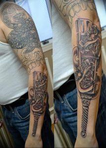 фото тату оружие от 05.09.2017 №110 - tattoo weapons - tattoo-photo.ru