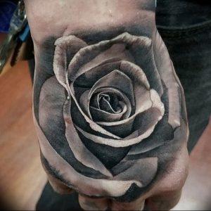 фото тату роза от 30.09.2017 №006 - rose tattoo - tattoo-photo.ru
