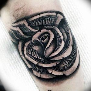 фото тату роза от 30.09.2017 №011 - rose tattoo - tattoo-photo.ru