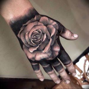 фото тату роза от 30.09.2017 №024 - rose tattoo - tattoo-photo.ru
