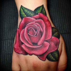 фото тату роза от 30.09.2017 №032 - rose tattoo - tattoo-photo.ru