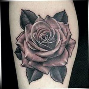 фото тату роза от 30.09.2017 №040 - rose tattoo - tattoo-photo.ru