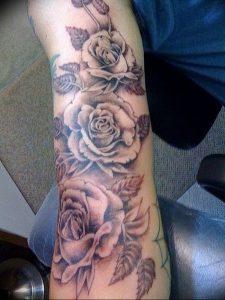 фото тату роза от 30.09.2017 №046 - rose tattoo - tattoo-photo.ru