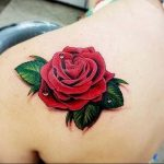 фото тату роза от 30.09.2017 №052 - rose tattoo - tattoo-photo.ru