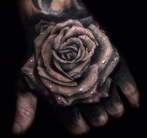фото тату роза от 30.09.2017 №053 - rose tattoo - tattoo-photo.ru