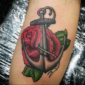 фото тату роза от 30.09.2017 №063 - rose tattoo - tattoo-photo.ru