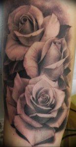 фото тату роза от 30.09.2017 №065 - rose tattoo - tattoo-photo.ru