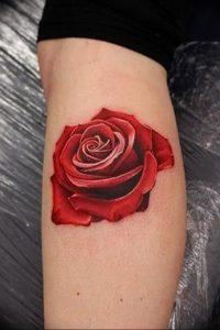 фото тату роза от 30.09.2017 №109 - rose tattoo - tattoo-photo.ru
