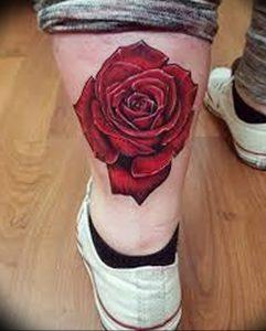 фото тату роза от 30.09.2017 №114 - rose tattoo - tattoo-photo.ru