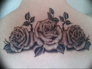 фото тату роза от 30.09.2017 №120 - rose tattoo - tattoo-photo.ru