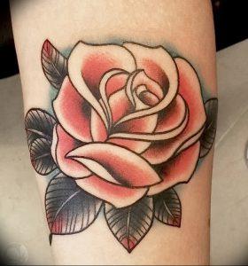 фото тату роза от 30.09.2017 №124 - rose tattoo - tattoo-photo.ru