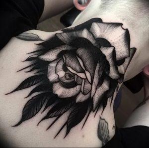 фото тату роза от 30.09.2017 №126 - rose tattoo - tattoo-photo.ru