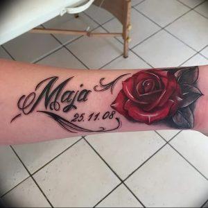 фото тату роза от 30.09.2017 №130 - rose tattoo - tattoo-photo.ru