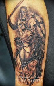 фото тату рыцарь от 27.09.2017 №025 - tattoo knight - tatufoto.com