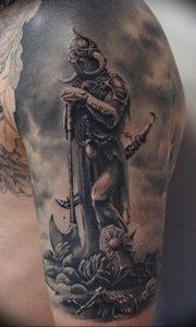 фото тату рыцарь от 27.09.2017 №026 - tattoo knight - tatufoto.com
