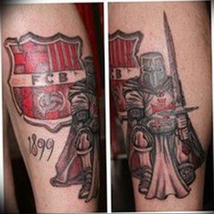 фото тату рыцарь от 27.09.2017 №027 - tattoo knight - tatufoto.com