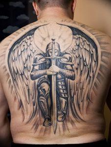 фото тату рыцарь от 27.09.2017 №032 - tattoo knight - tatufoto.com