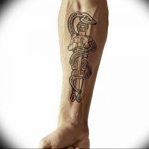 фото тату рыцарь от 27.09.2017 №040 - tattoo knight - tatufoto.com