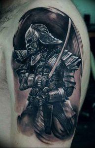 фото тату рыцарь от 27.09.2017 №053 - tattoo knight - tatufoto.com