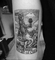 фото тату рыцарь от 27.09.2017 №063 — tattoo knight — tatufoto.com