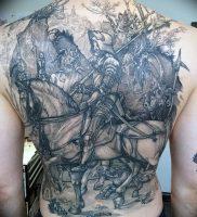 фото тату рыцарь от 27.09.2017 №067 — tattoo knight — tatufoto.com