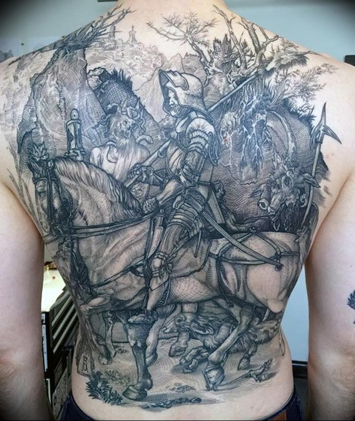 востребованность известность масштабные тату на спину фото рыцарь отправимся осенью архыз