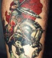 фото тату рыцарь от 27.09.2017 №068 — tattoo knight — tatufoto.com
