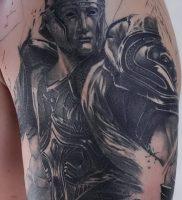 фото тату рыцарь от 27.09.2017 №074 — tattoo knight — tatufoto.com