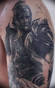 фото тату рыцарь от 27.09.2017 №074 - tattoo knight - tatufoto.com