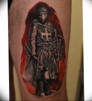 фото тату рыцарь от 27.09.2017 №075 — tattoo knight — tatufoto.com