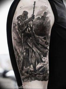 фото тату рыцарь от 27.09.2017 №081 - tattoo knight - tatufoto.com