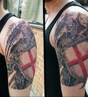 фото тату рыцарь от 27.09.2017 №082 — tattoo knight — tatufoto.com