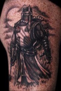 фото тату рыцарь от 27.09.2017 №089 - tattoo knight - tatufoto.com