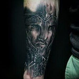фото тату рыцарь от 27.09.2017 №092 - tattoo knight - tatufoto.com