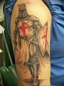 фото тату рыцарь от 27.09.2017 №095 - tattoo knight - tatufoto.com