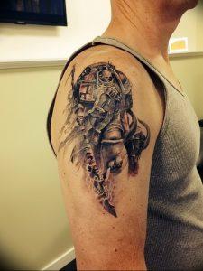 фото тату рыцарь от 27.09.2017 №099 - tattoo knight - tatufoto.com