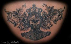 фото тату рыцарь от 27.09.2017 №103 - tattoo knight - tatufoto.com