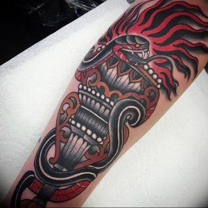 фото тату факел от 08.09.2017 №108 - tattoo torch - tattoo-photo.ru