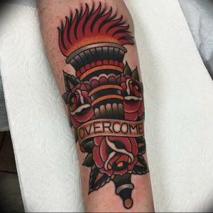 фото тату факел от 08.09.2017 №111 - tattoo torch - tattoo-photo.ru