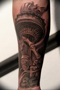 фото тату факел от 08.09.2017 №121 - tattoo torch - tattoo-photo.ru
