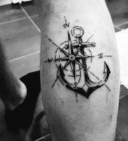 фото тату якорь от 02.10.2017 №015 — tattoo anchori — tattoo-photo.ru