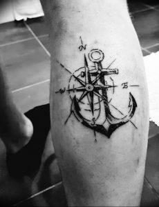 фото тату якорь от 02.10.2017 №015 - tattoo anchori - tattoo-photo.ru