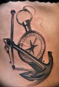 фото тату якорь от 02.10.2017 №044 - tattoo anchori - tattoo-photo.ru