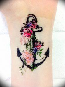 фото тату якорь от 02.10.2017 №083 - tattoo anchori - tattoo-photo.ru