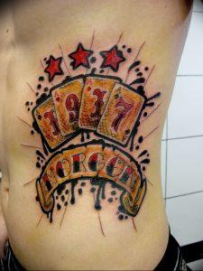 фото тату 4 туза от 30.09.2017 №022 - tattoo 4 aces - tattoo-photo.ru