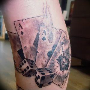 фото тату 4 туза от 30.09.2017 №029 - tattoo 4 aces - tattoo-photo.ru