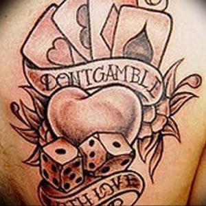 фото тату 4 туза от 30.09.2017 №034 - tattoo 4 aces - tattoo-photo.ru