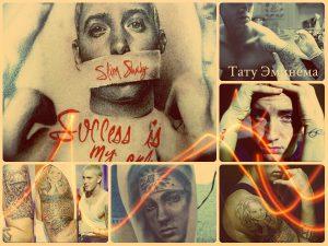 Тату Эминема - фото примеры татуировок знаменитости