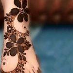 фото Мехенди на ноге от 24.10.2017 №030 - Mehendi on foot - tattoo-photo.ru